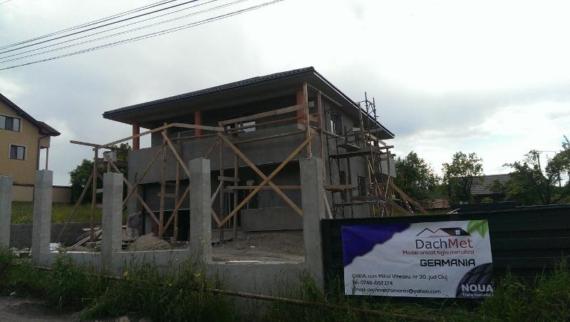Acoperis tigla metalica ansamblu rezidential,Cart. Zorilor, Cluj-Napoca