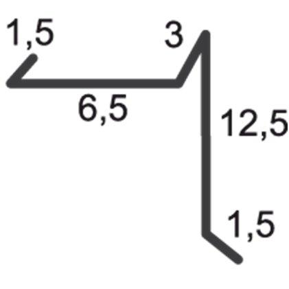 profil bordura fronton sub tabla