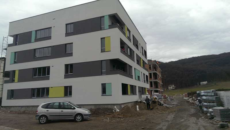 acoperis tigla metalica cluj ansamblu rezidential Green City Residence (6 Blocuri) Floresti