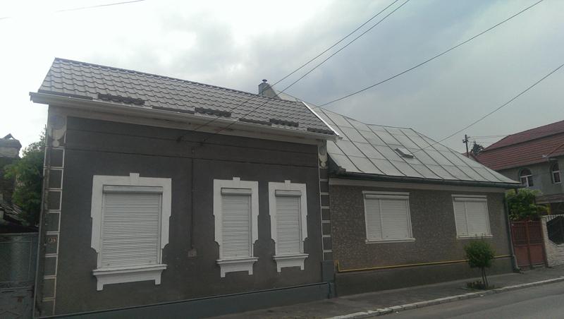 acoperis tabla casa rezidentiala, Turda, Jud. Cluj