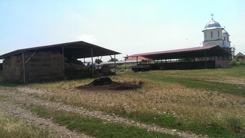 acoperis tabla ferma agricola, Luncani, Jud. Cluj