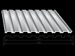 Tabla trapezoidala model T 18