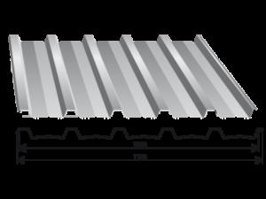 Tabla trapezoidala T 35