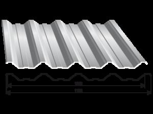 Tabla trapezoidala T 50