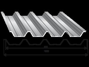 Tabla trapezoidala T 60
