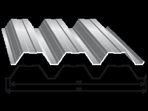 Tabla trapezoidala T 90