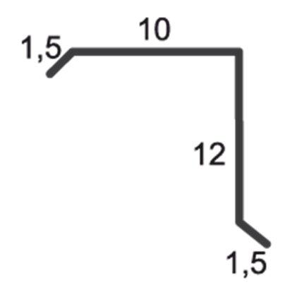 profil bordura fronton