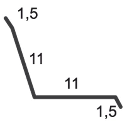 profil racord la zid