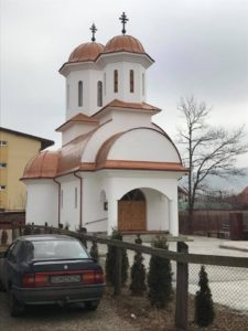 Biserica Crestin Ortodoxa - Tabla Imitatie Cupru Ral 8023 - Com. Florest Jud. Cluj